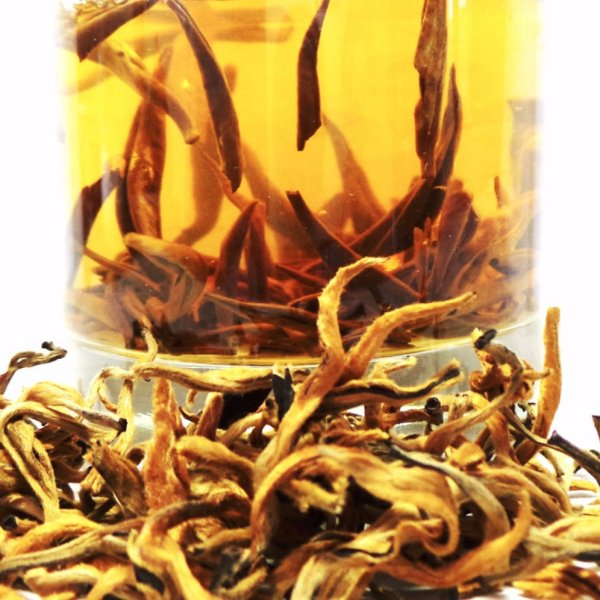 Golden needle tea