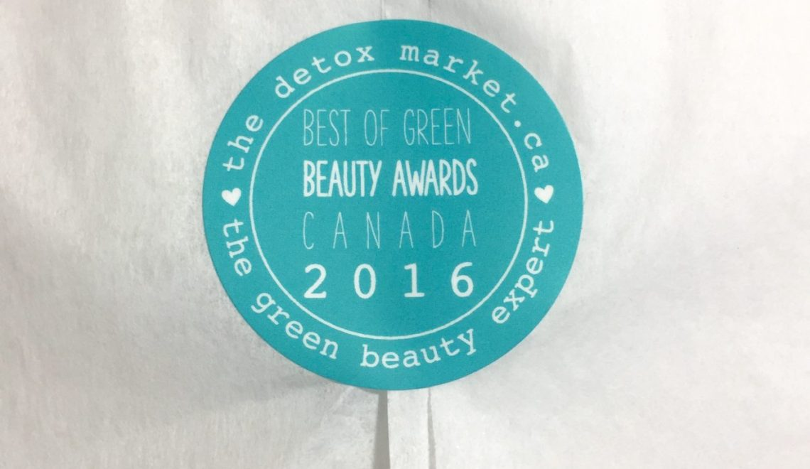 Detox Market Best of Green Beauty Canada Box