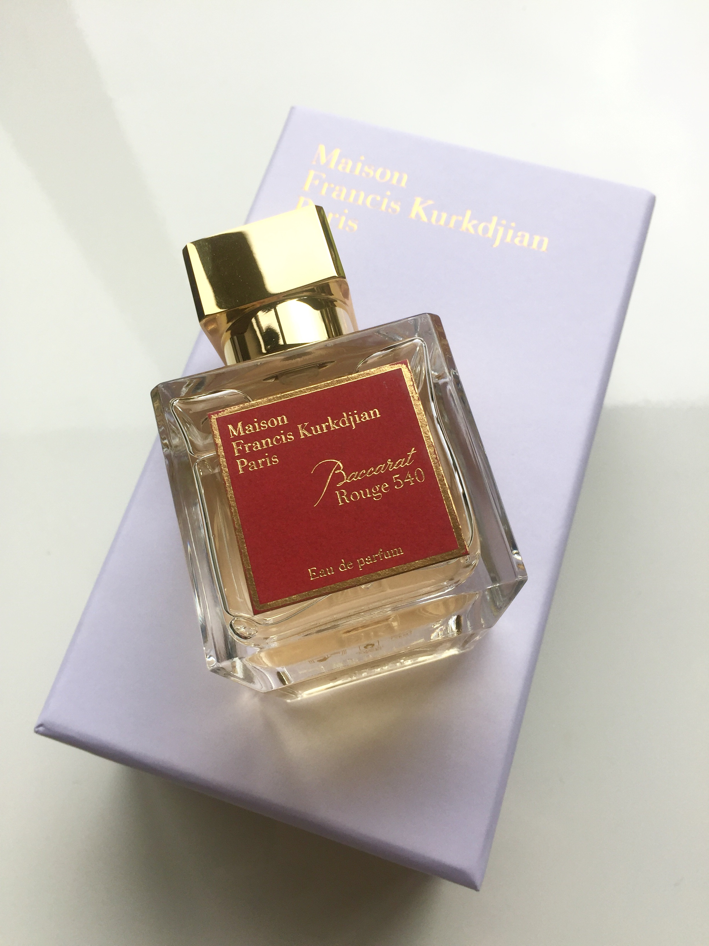 Francis Kurkdjian Baccarat Rouge 540 Review Daly Beauty