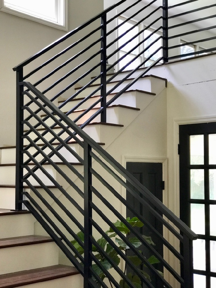 our finished staircase with