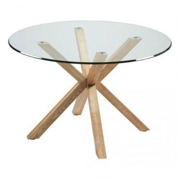 table en verre conforama