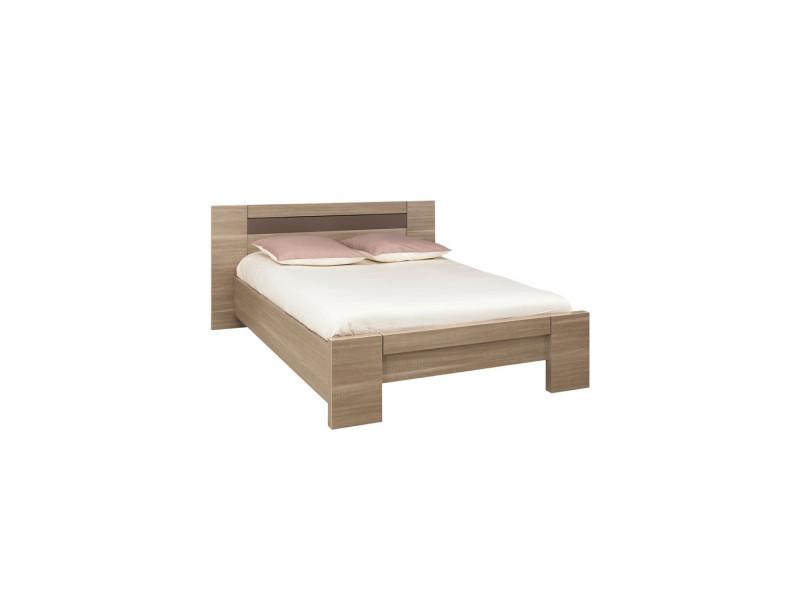 lit adulte cadre de lit tete de lit 140 190 macao 140 x 190