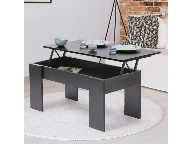 table basse plateau relevable