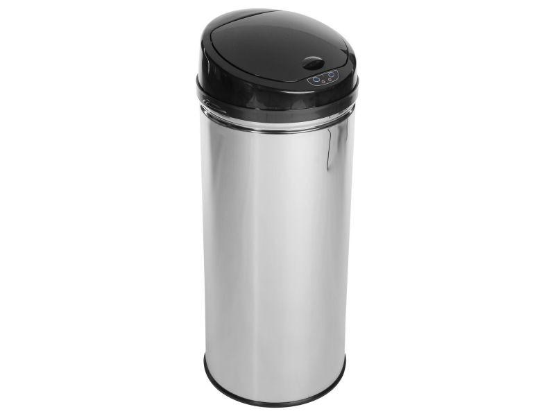 poubelle automatique 42 l inox