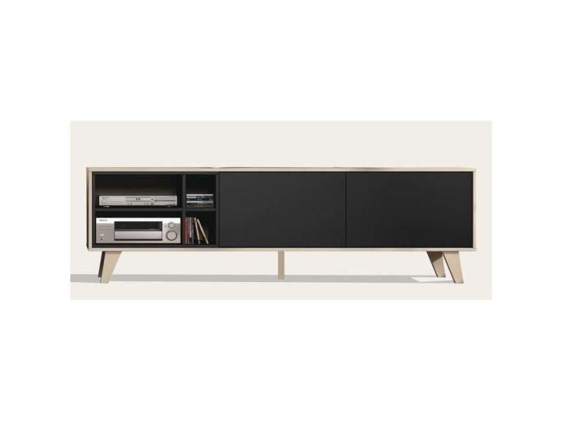meuble tv anthracite