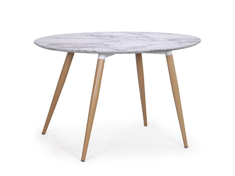 table ovale scandinave sissi effet