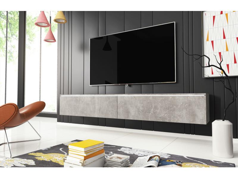 furnix meuble tv supspendu banc tv
