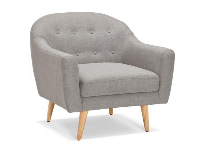 fauteuil design scandinave niels 87cm