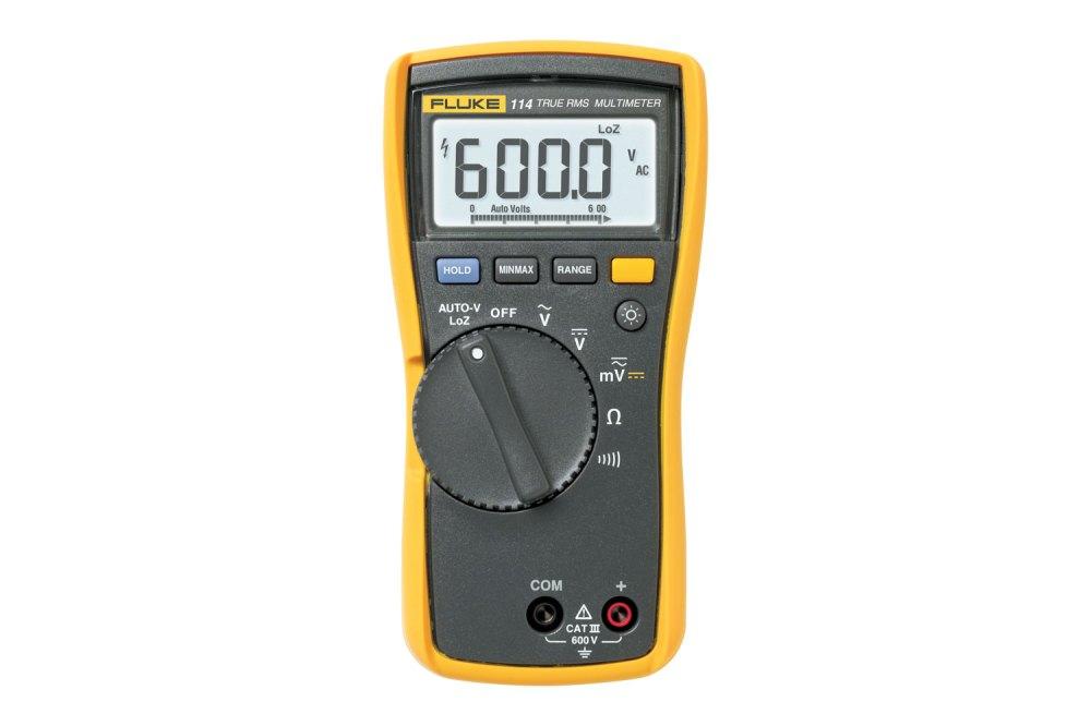 medium resolution of fluke 114 true rms electrical multimeter cat iii 600 v fluke elapsed time meter wiring diagram