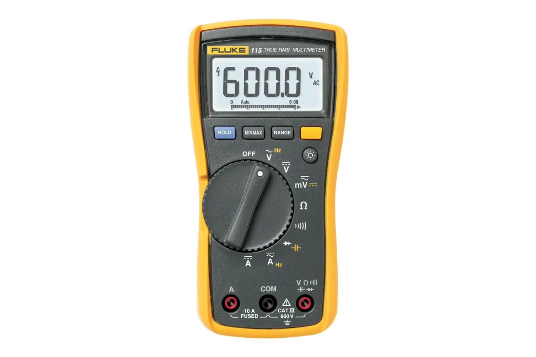 hight resolution of fluke 115 true rms digital multimeter