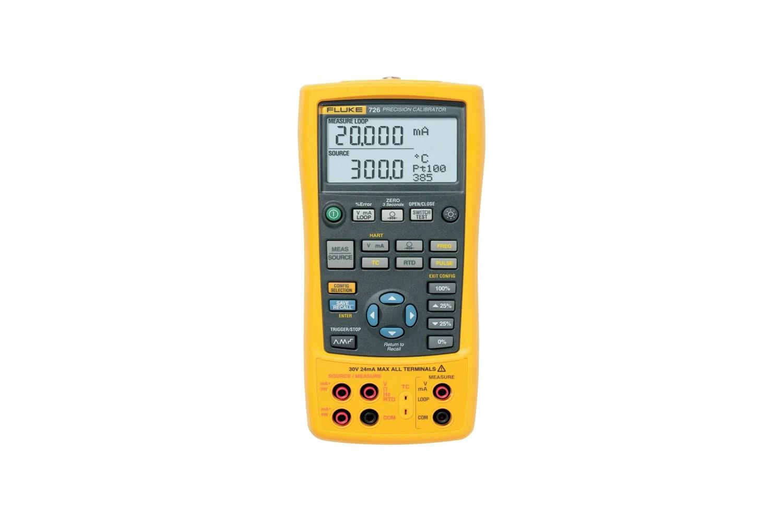 hight resolution of fluke 726 precision multifunction calibrators