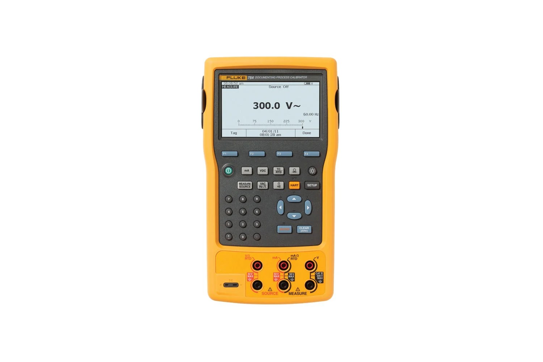 hight resolution of fluke 754 documenting process calibrator hart