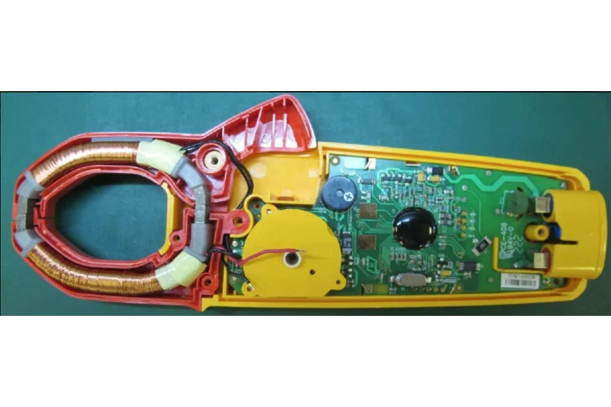 Inside Current Transformer (ac) Clamp Meters   Fluke