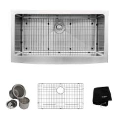 Kitchen Sink Amazon Moen Faucet Parts Diagram Canada Kraus Sinks Khf200 36 Inch Farmhouse Apron Single 476 Khf203 60 40 519 96