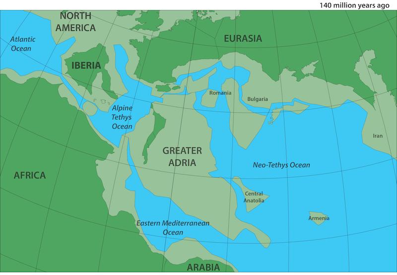 Gran Adria continente