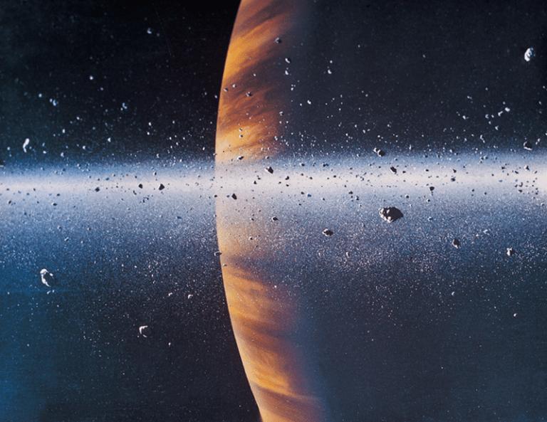 Saturno anillos