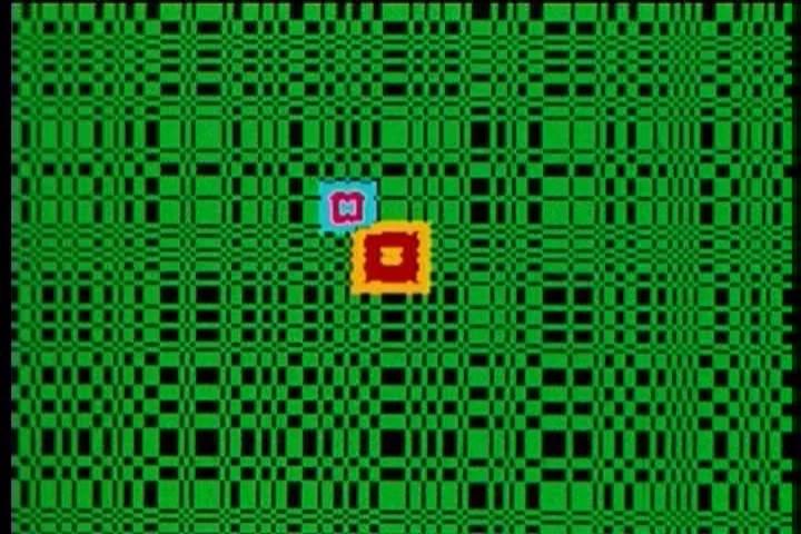 Lillian F. Schwartz, Enigma, digital video, 4 min., 1972