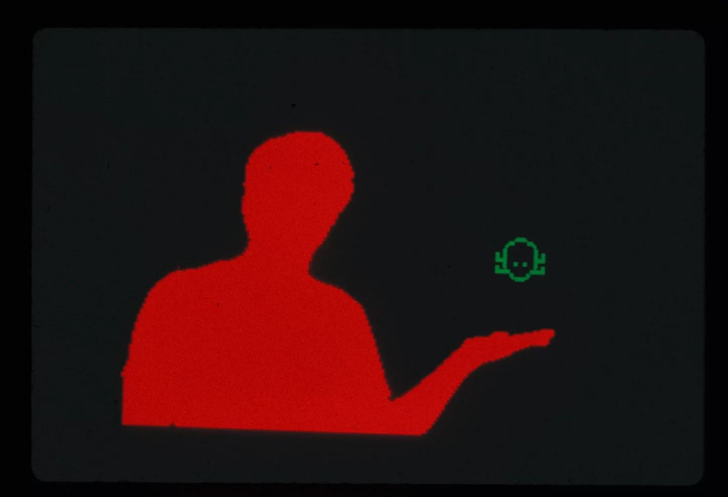 Myron Krueger, Videoplace. Interactive installation, 1985.