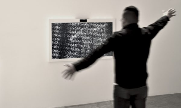 "Rafael Lozano-Hemmer, ""Eye Contact, Shadow Box 1"", 2006. Rafael Lozano-Hemmer: Pseudomatismos, MUAC Museum, Mexico City, Mexico, 2015. Photo by: Antimodular Research."