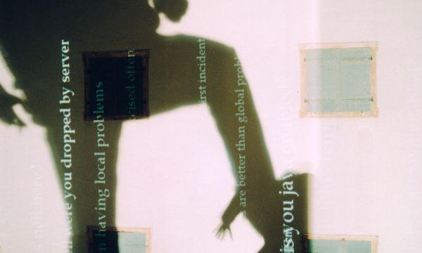 "Rafael Lozano-Hemmer, ""Re:positioning Fear, Relational Architecture 3"", 1997.  Landeszeughaus, Architecture and Media Biennale, Graz, Austria. Photo by: Joerg Mohr"