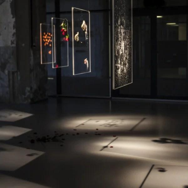 Addie Wagenknecht, Glass Ceiling: brb rage binging. Plexiglas, lipstick. 31.5 x 19.7 x .6 in / 80 x 50.8 x 1.5 cm. 2015. Photo: Hanneke Wetzer