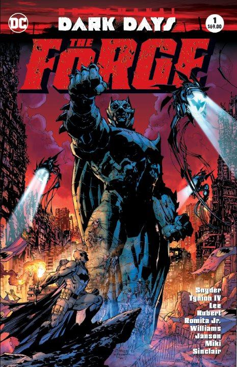 DC Semanal: Dark Days: The Forge #1