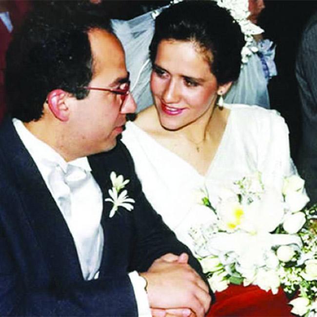 Margarita Zavala y Felipe Calderón celebran 25 años de casados | Revista Caras