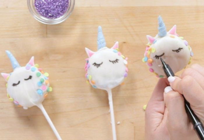 Diy Receta Para Cakepops De Unicornio Tu En Línea