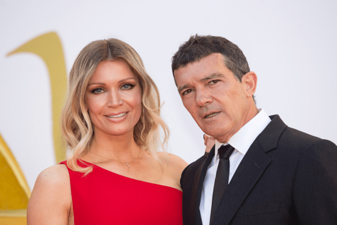 Nicole Kimpel and Antonio Banderas