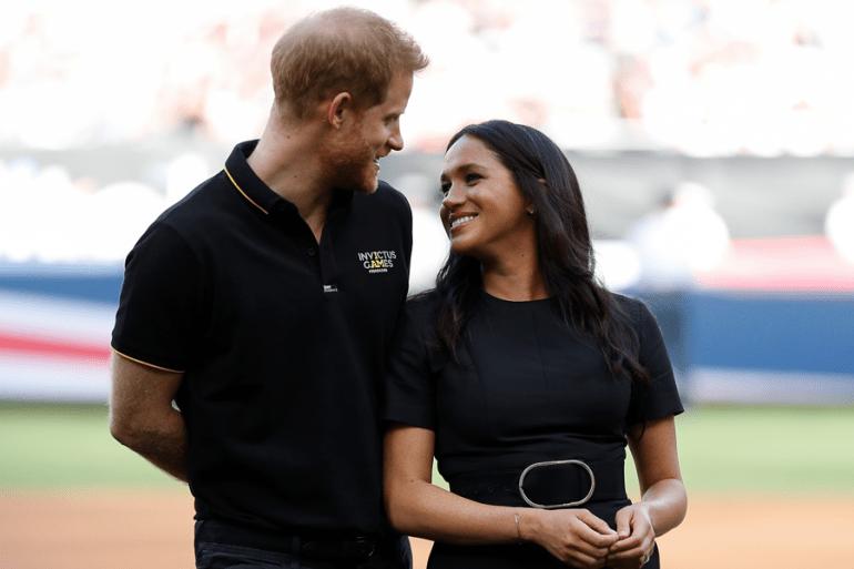 A quién reveló Meghan Markle antes que a muchos su romance con el príncipe  Harry?
