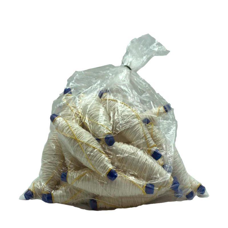 Spago spolette bianco 2/8 per salsicce e cacciatorini - Dama Srl