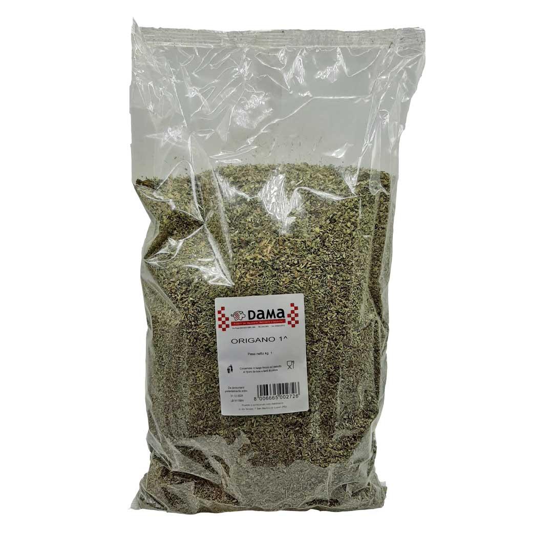 Origano secco frantumato per insaporire salumi e salmistrati - Confezioni da 100 gr a 1 kg