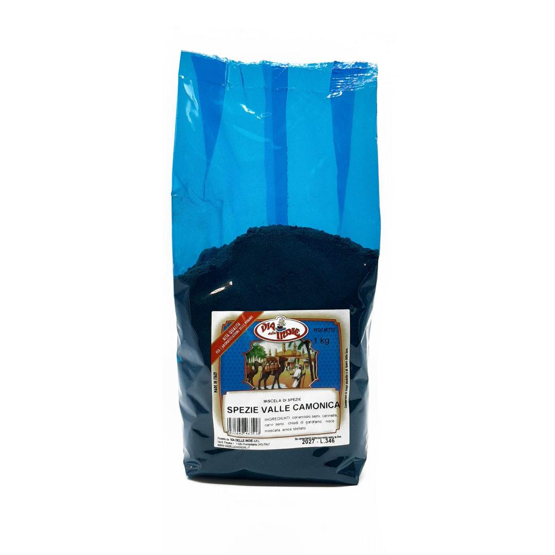Spezie Valle Camonica per salumi e salmistrati - Confezioni da 100 gr a 1 kg