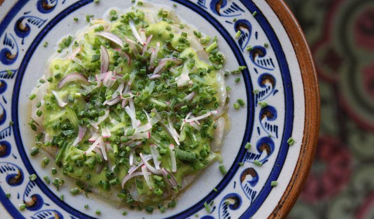 aquachiles on a plate