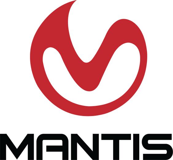 Mantis Logo black vertical