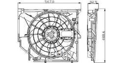 Tyc Radiateur Ventilateur De Refroidissement Convient Bmw