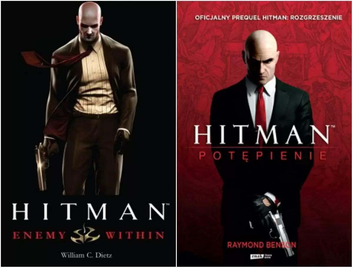 ksiazki na podstawie gier hitman