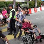 Make it easier for us to get to MidValley and KTM station, urge the disabled