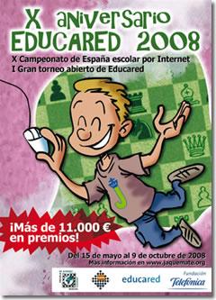X Campeonato de España Escolar Por Internet / Educared