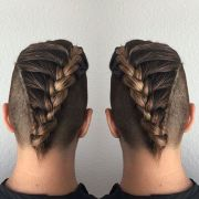 french braids men styles