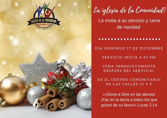 invitacion de navidad