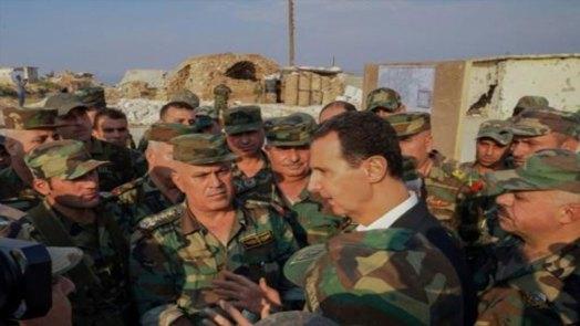بالأسماء ترقية 35 ضابطاً في جيش النظام واستخباراته إلى رتبتي لواء وعميد