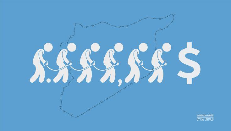 تجارة الاعتقال في سجون ومعتقلات النظام السوري