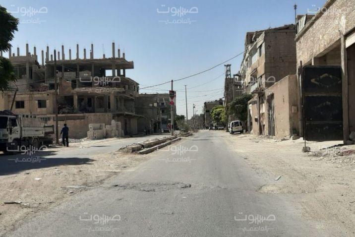 بالسكاكين والفؤوس.. مجهولون يستهدفون حاجزاً للأمن العسكري في الغوطة الشرقية