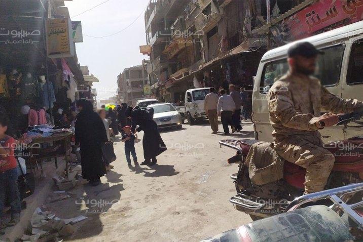 بهدف التجنيد الإجباري.. أمن الدولة يعتقل العشرات من أبناء دوما في الغوطة الشرقية