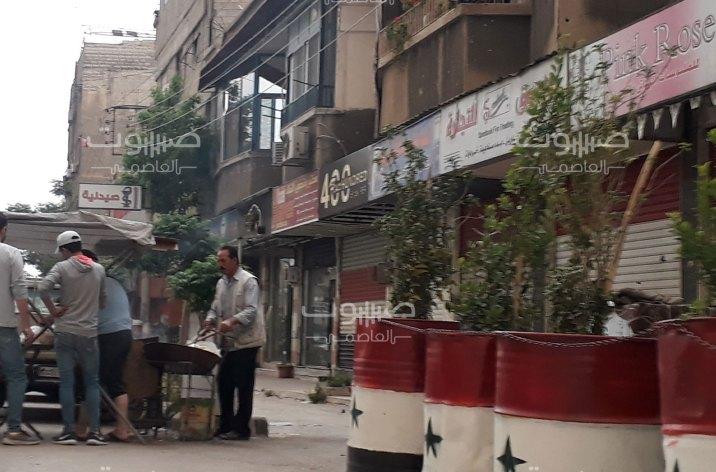 """انتشار أمني في بيت سحم بعد كتابة مجهولين لكلمة """"الحرية"""" بجانب البلدية"""