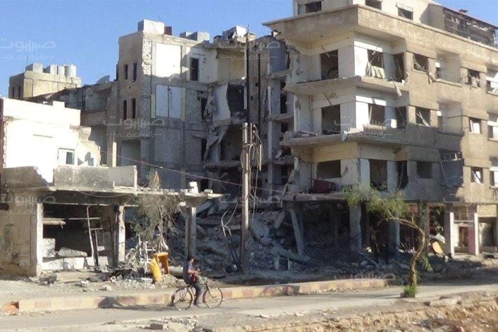 الرابعة تعتقل شاباً من ذوي الاحتياجات الخاصة في معضمية الشام