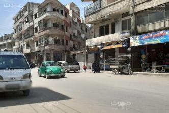كفربطنا مشاجرة أمام مركز السورية للتجارة تنتهي بتعرض شاب لعدة طعنات