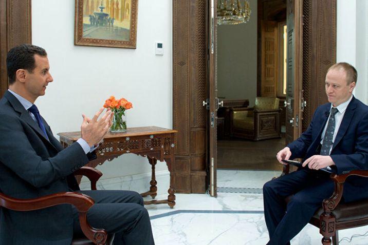 الأسد يعلن رغبته في تلقي لقاح كورونا الروسي