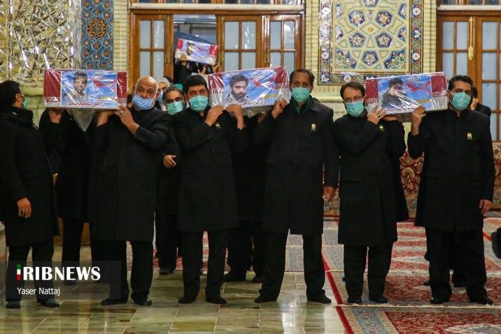 قُتلوا في حلب.. الحرس الثوري ينقل رفات سبعة من عناصره إلى إيران